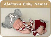 Alabama Baby Names
