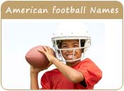 American Football Baby Names