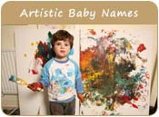 Artistic Baby Names
