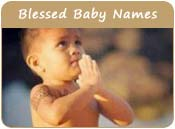 Blessed Baby Names