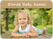 Blonde Baby Names