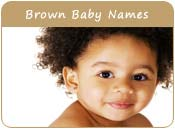 Brown Baby Names