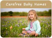 Carefree Baby Names