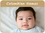 Colombian Baby Names