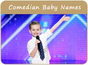 Comedian Baby Names