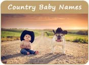 Country Baby Names