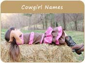 Cowgirl Names