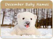 December Baby Names