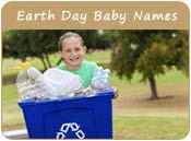 Earth Day Baby Names
