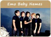 Emo Baby Names