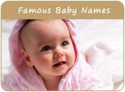 Famous Baby Names