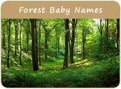 Forest Baby Names