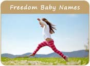 Freedom Baby Names