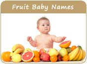 Fruit Baby Names