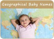 Geographical Baby Names