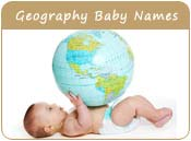 Geography Baby Names