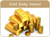 Gold Baby Names