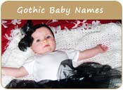 Gothic Baby Names