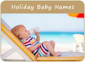 Holiday Baby Names