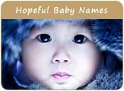 Hopeful Baby Names