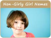 Non-Girly Girl Names