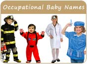 Occupational Baby Names