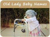 Old Lady Baby Names