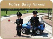Police Baby Names
