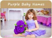 Purple Baby Names
