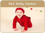 Red Baby Names