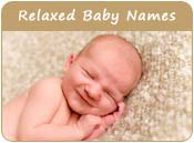 Relaxed Baby Names