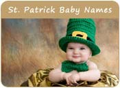 Saint Patrick Day Baby Names