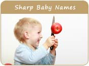 Sharp Baby Names