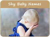 Shy Baby Names
