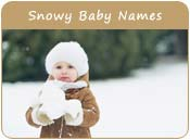 Snowy Baby Names