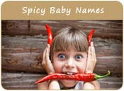Spicy Baby Names