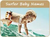 Surfer Baby Names