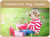 Valentine's Day Baby Names
