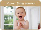Vowel Baby Names