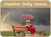 Weather Baby Names